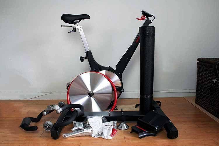 bicicleta spinning desmontada