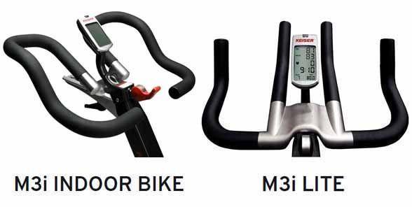 manillares bicicletas keiser con consola