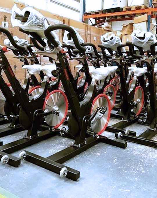 Bicicletas Keiser M3i en almacen