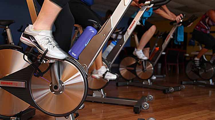 Sesion ciclismo indoor Bicicletas Keiser