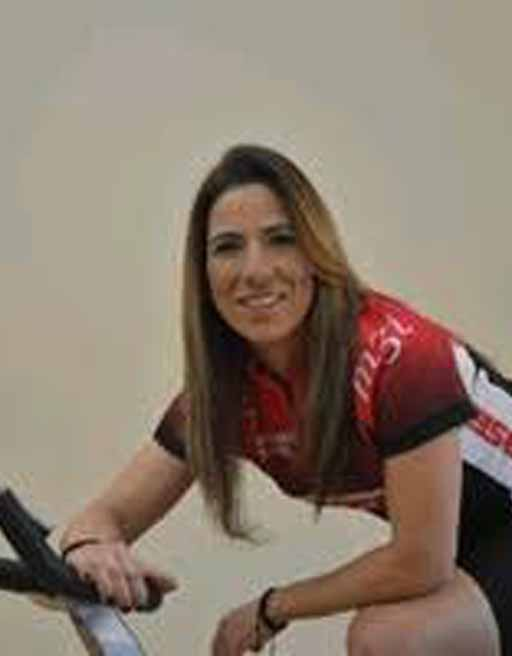 mujer mallot keiser manillar bicicleta