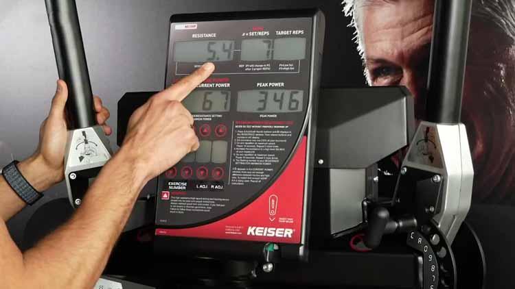 Display Keiser Functional Trainer